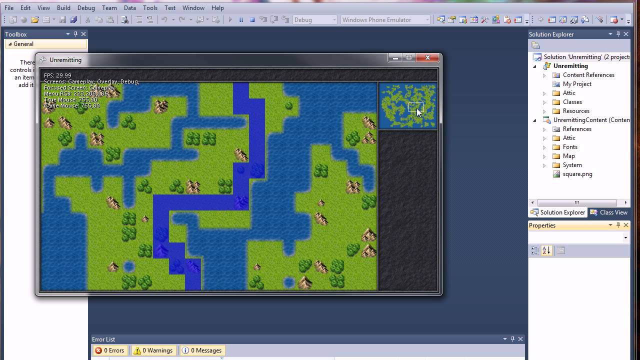 Kalamus project xna 4 procedural tile map generation a kalamus project xna 4 procedural tile map generation a pathfinding selectable minimap youtube gumiabroncs Image collections
