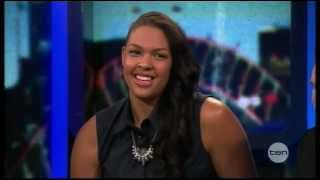 Liz Cambage on The Project Thumbnail