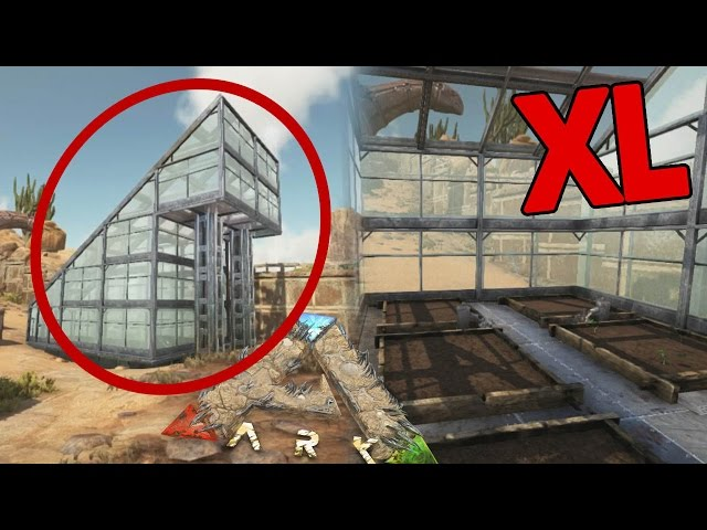 GREENHOUSE & XL AFLEVERING!! - ARK Scorched Earth #27