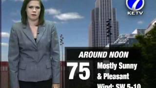 Melissa Says Rain Expected Overnight thumbnail