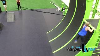 MoveStrong Warped Wall Features For Obstacle Curse and Ninja Training