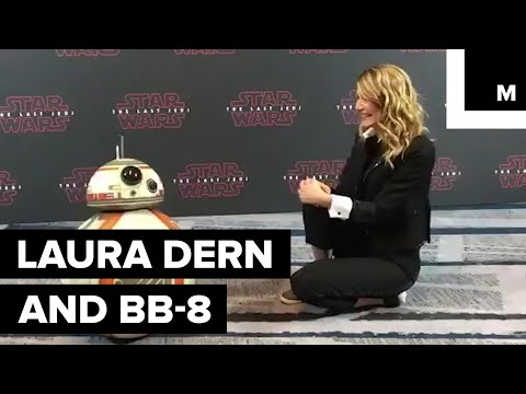 Download Youtube: Laura Dern and BB-8 are Besties
