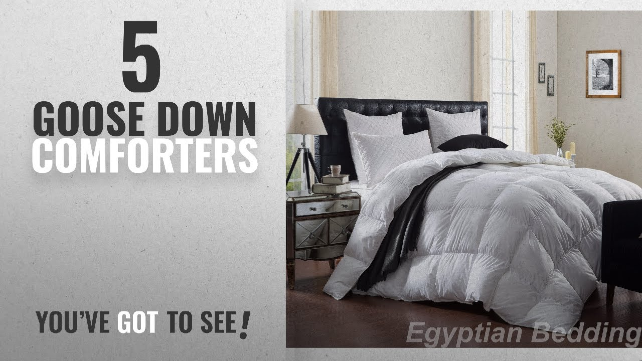 6bc8169e4383 Top 10 Goose Down Comforters [2018]: LUXURIOUS 1200 Thread Count ...