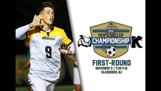 2019 Rowan Men's Soccer vs. Kean| NJAC First-Round | 11/2/19