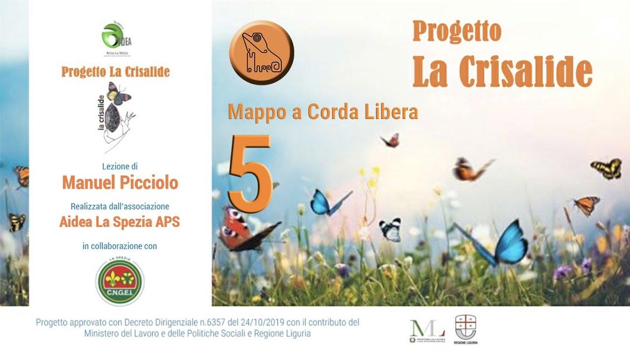 """Progetto """"La crisalide"""" - MAPPO a Corda Libera - 5 - Manuel Picciolo"""