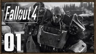 Fallout 4 PC Gameplay Part 1 - Character Creation; Vault 111