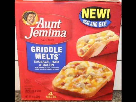 Aunt Jemima Griddle Melts: Sausage, Ham & Bacon Review