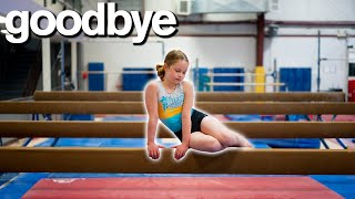 My Daughter's Emotional Goodbye To Gymnastics 💔