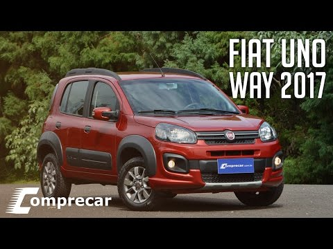 Fiat Uno Way 2017, com novo motor 1.3 FireFly