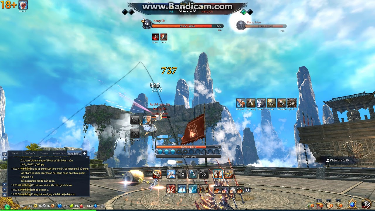 Blade and Soul hack speed