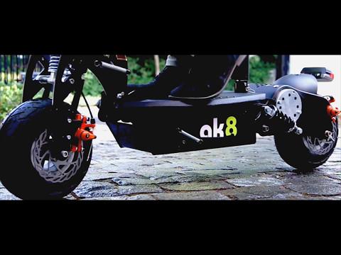 Scooter Eléctrico Ak8 - Video realizado para importadora AK8.