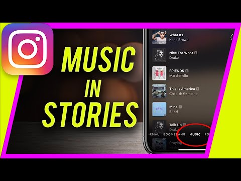 How to Use MUSIC in Instagram Stories (New Music in Stories Button)