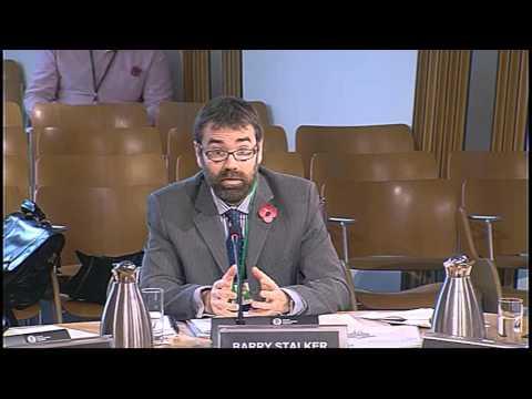 Finance Committee - Scottish Parliament: 11th November 2015