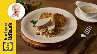Zemiakové placky (rösti) s hlivovou omáčkou a mäsom 🍴 | Roman Paulus | Kuchyňa Lidla