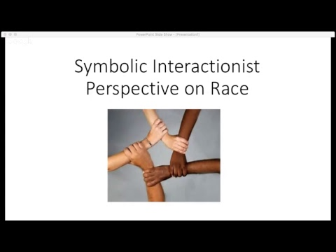 Symbolic Interactionist Perspective On Race Youtube
