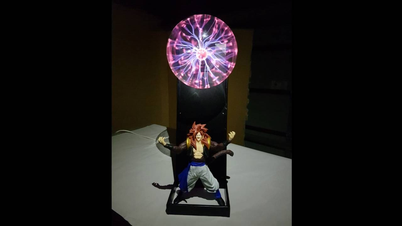 Make Your Own Customised DBZ Spirit Bomb Lamp With A Plasma Ball!   YouTube