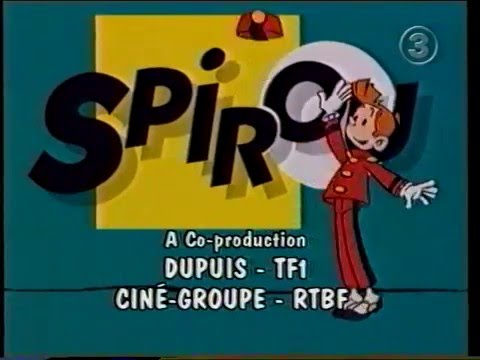 Spirou - Intro TV3 (Svenska)