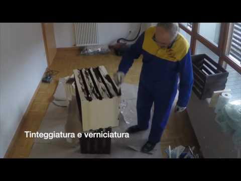 tavolino fatto con cassette di legno - YouTube