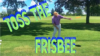 Toss the frisbee for better release
