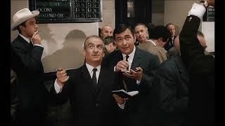 """Парижская фондовая биржа 60-x годов из фильма """"Пик-Пик"""" (1963)"""