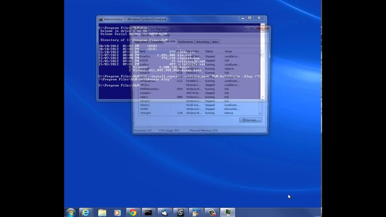 Installing the Arnold license server as a Windows service