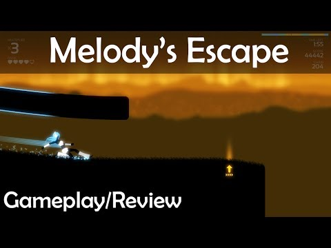 Melody's Escape - Gameplay/Review/Steam Early Access - Music Rhythm Game good