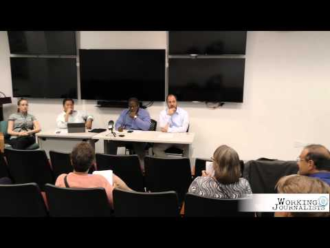Working Journalists: A Freelance Labor Panel Discussion
