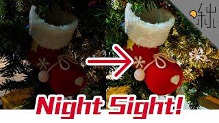 Google拍照黑科技!Pixel 3 夜視模式! | 啾來試試 第5集 | 啾啾鞋