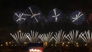 Аргентина (4К) Международный фестиваль фейерверков в Москве Братеевский каскадный парк 18 августа
