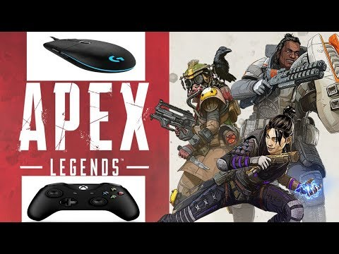 How To Use Controller And Mouse On APEX Legends (mouse Jitter Fix)
