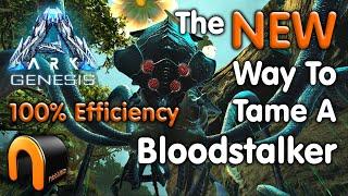 ARK Genesis NEW WĄY To Tame A Bloodstalker 100% Efficiency!