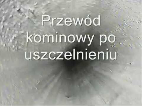 Super uszczelnianie komina (szlamowanie) przed i po - YouTube DZ08