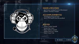 2015 HoN Tour World Finals - Bad Monkey Gaming Profile