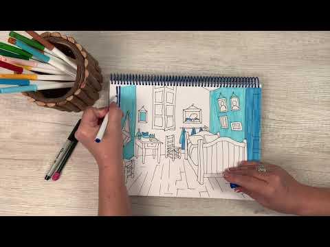 How To Draw Van Gogh's
