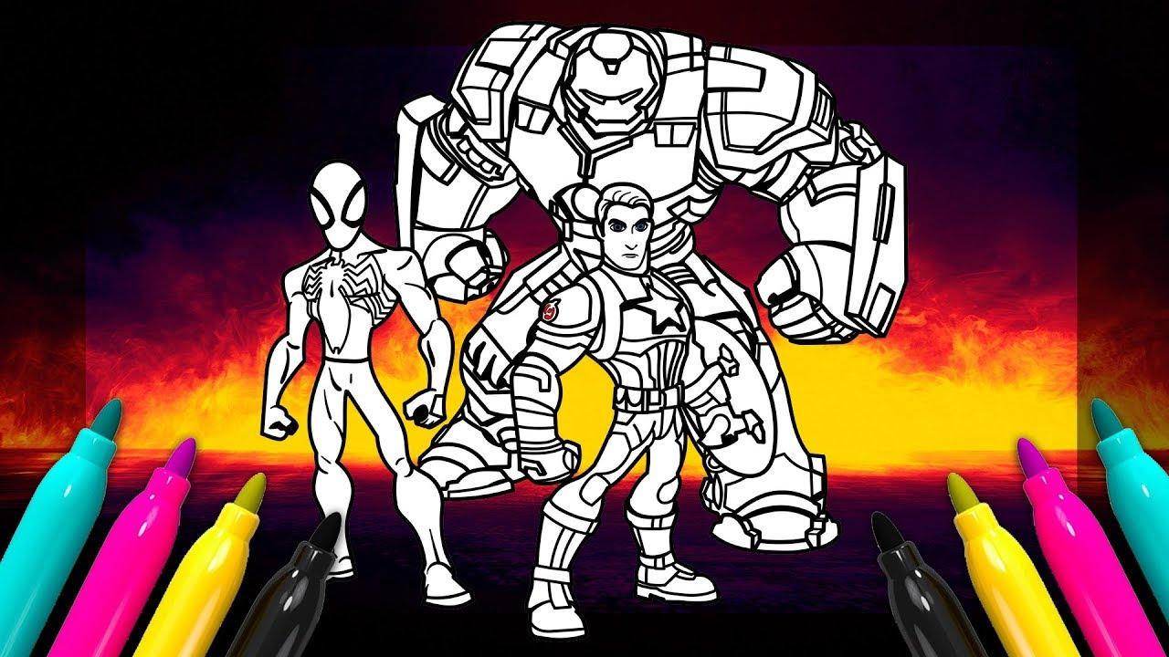 Disney Infinity Avengers Hulkbuster Captain America