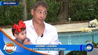 ¡Johnny Lozada ya es abuelo! | Hoy