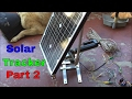 DIY Solar Tracker (Part 2) Horizontal Axis