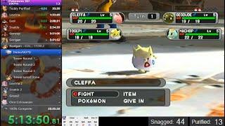 Pokemon XD 100% Speedrun (18:32:06 - Part 1)