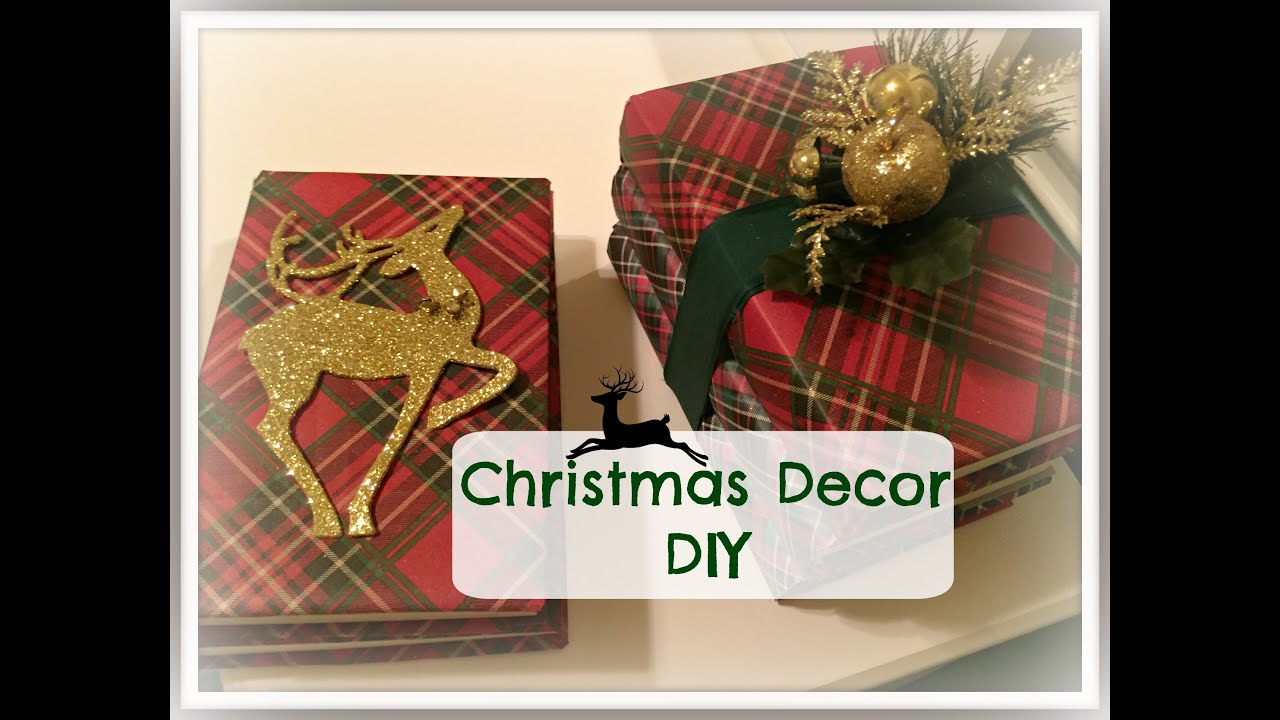 christmas decor diy plaid week day 7 youtube