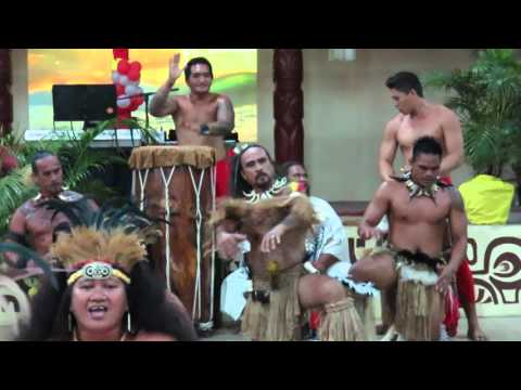 Marquesan Islands dancing