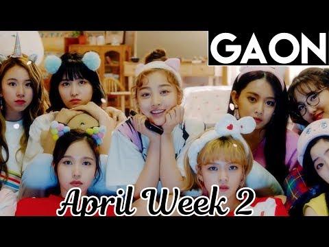[TOP 100] Gaon Kpop Chart 2018 [April Week 2]