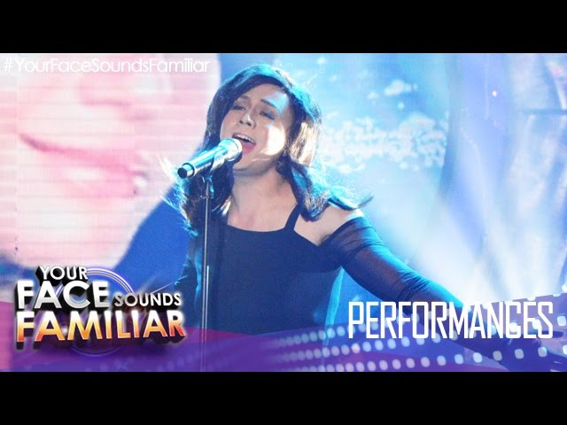 "Your Face Sounds Familiar: Sam Concepcion as Mandy Moore - ""Cry"""
