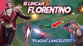 Hero Baru Florentino!! Plagiat Lancelot MLBB!!? - AOV Test Server