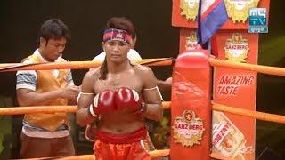 Moeun Sokhuch vs Orono(laos), Khmer Boxing MY TV 04 May 2018, Kun Khmer vs Muay Thai