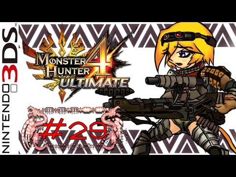 LZ Ft.Guin : Monster Hunter 4 Ultimate #29 [Hr4:Face Two Face] | Online