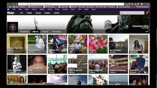 how to use the Flickr Album Gallery Plugin