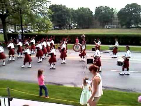 Bagpipes Elmira parade 2011