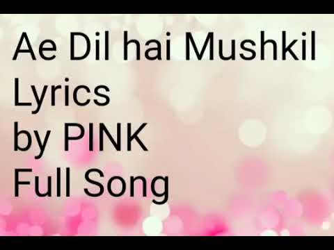 ae-dil-hai-mushkil-full-song-lyrics