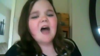 TERRIBLE Singing. Cringey and Hilarious Girl Tries To Sing. *TRIES* Video