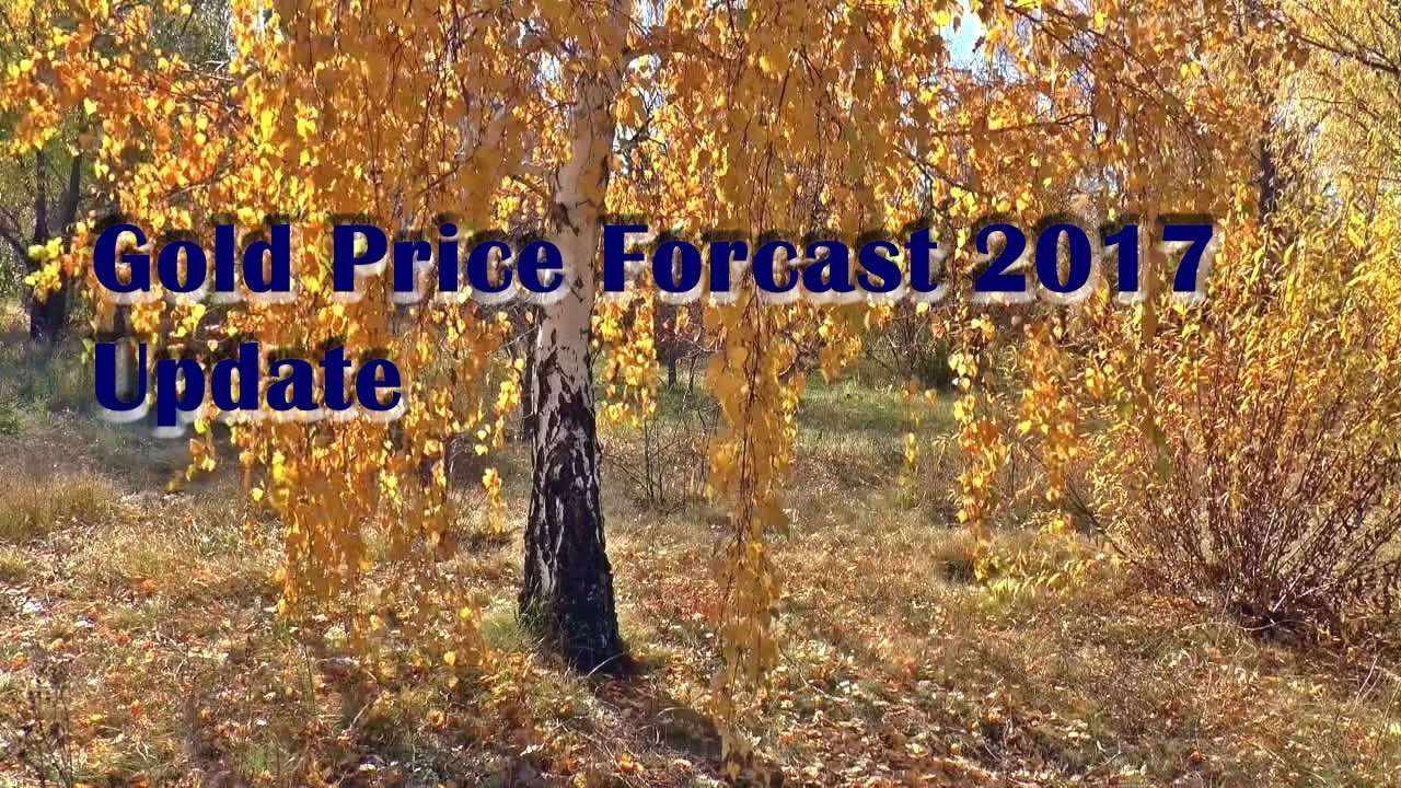 Gold Price Forecast 2017 Update